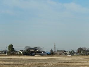 So sah's um die Anlage herum aus. Ich war mitten im japanischen Nirgendwo.