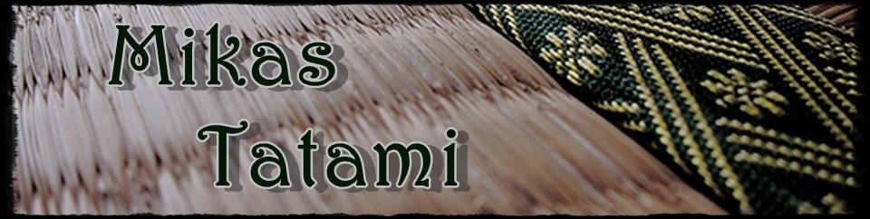 Der Header zu meinem Japan-Blog Mikas Tatami. Mehr schlecht als recht ...