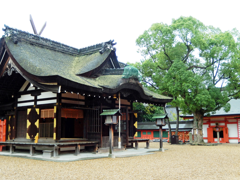 Sumijoshi Taisha in Osaka.